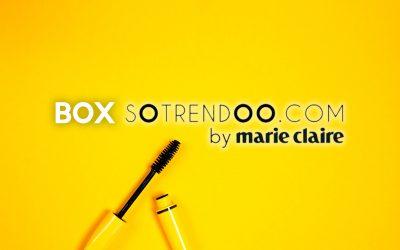 Les Box Marie Claire et Cosmopolitan (Sotrendoo) : des Box Beauté pour tous les goûts