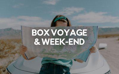 Les 10 Meilleures Box Voyage et Week-End