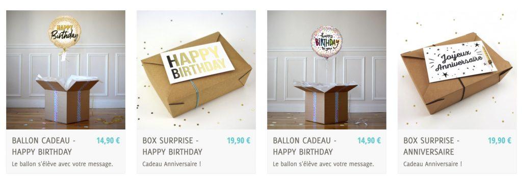 box anniversaire the pop case