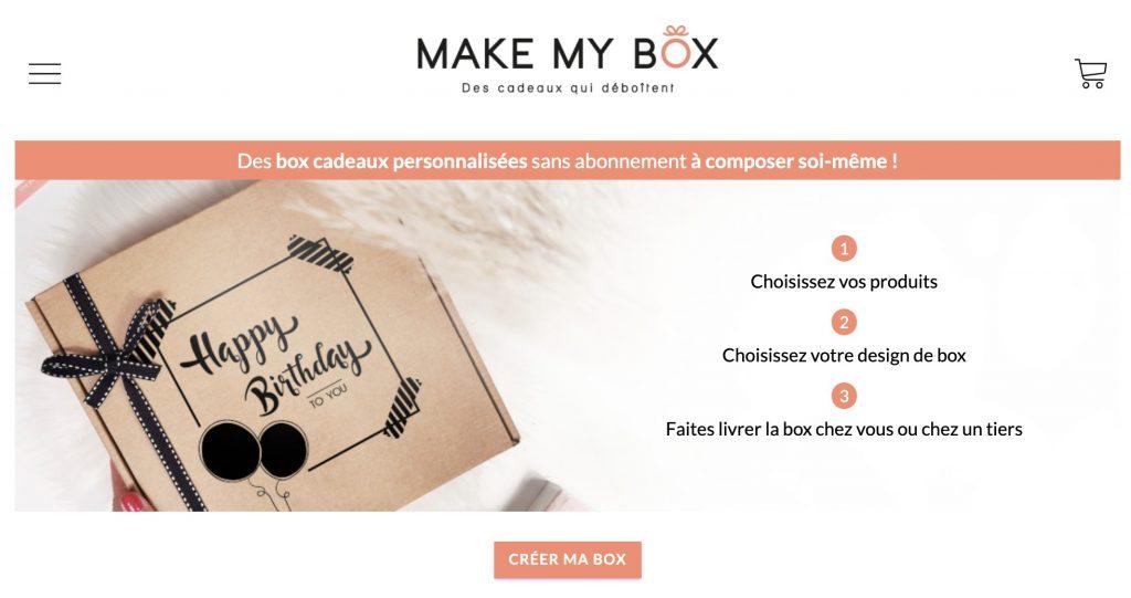 make my box box anniversaire
