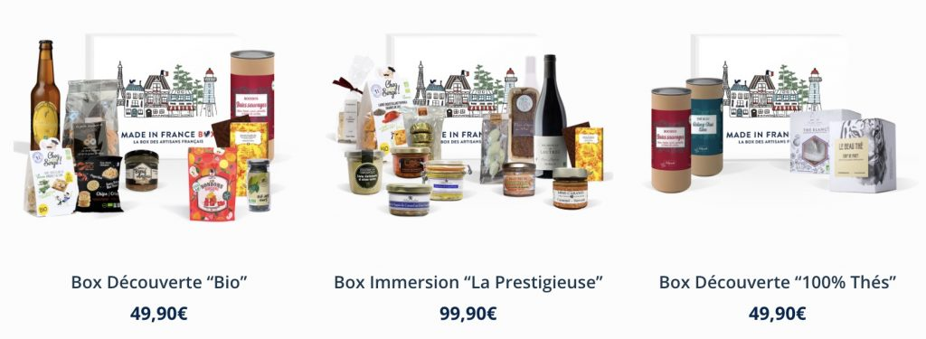 box anniversaire made in france