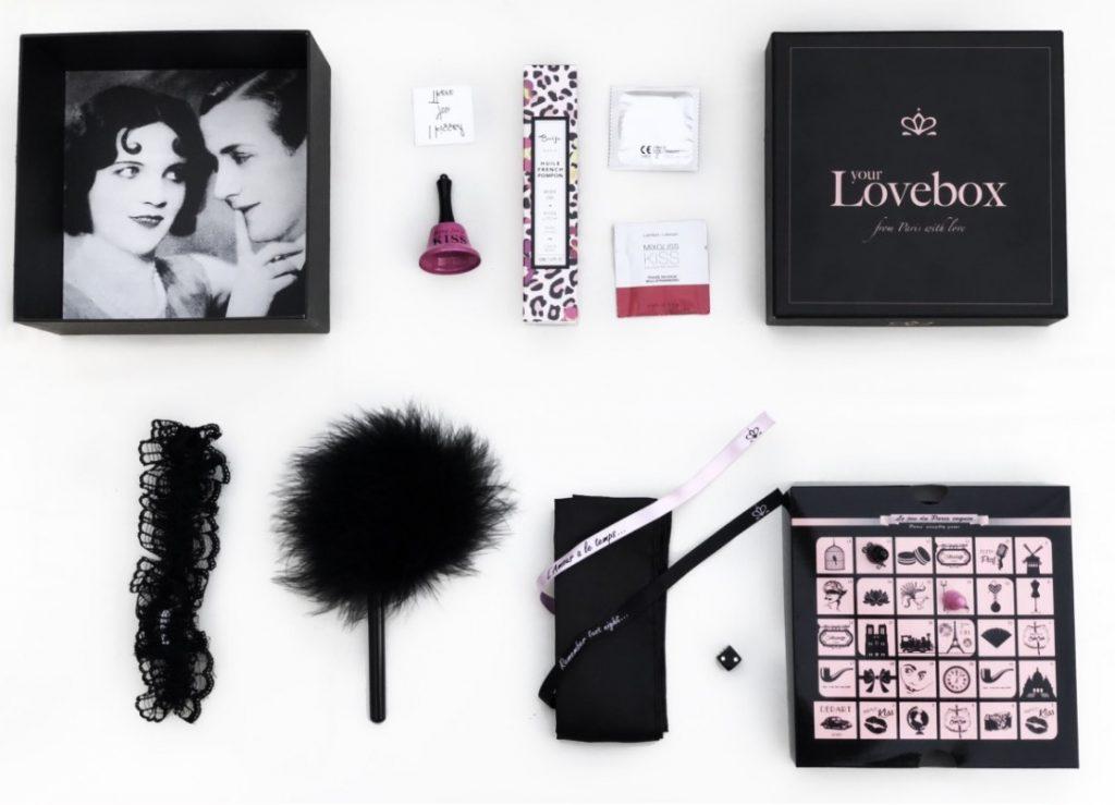 box saint valentin coquine lovebox