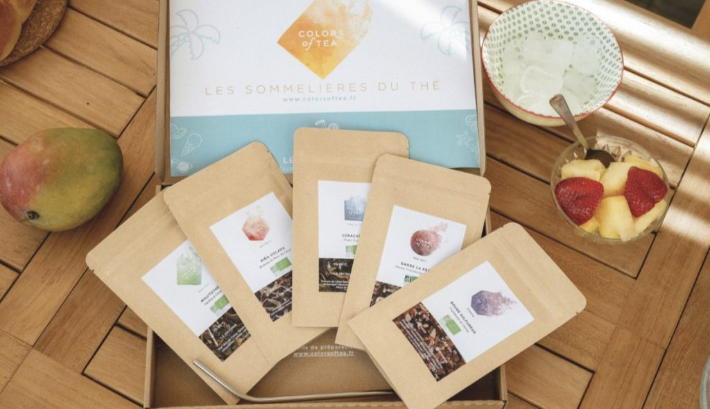 box color of tea fete des meres