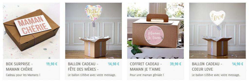 box pop case fete des meres