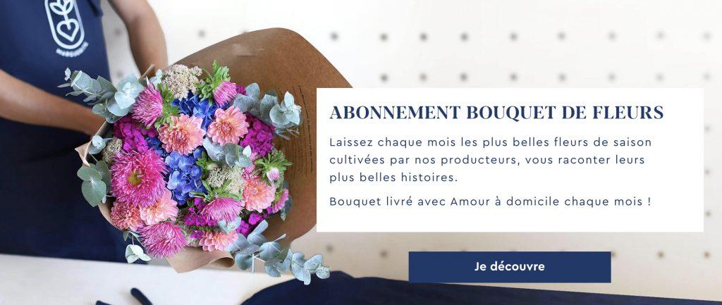abonnement bouquet de fleur monsieur marguerite